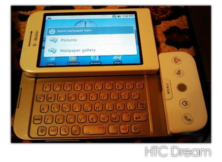 Primeras imágenes del HTC Dream