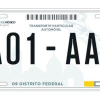 El D.F. cambia de nombre, y los capitalinos tendremos que cambiar placas