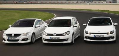 Kit R-Line ahora disponible en Volkswagen Golf, Scirocco y Passat CC