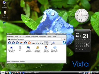 Vixta, una distro con sabor a MS Vista