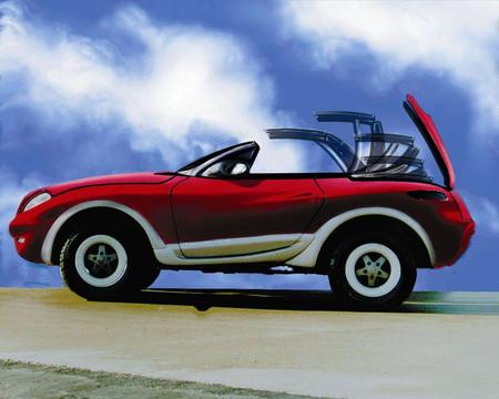 Mercedes G Intruder Salón de Ginebra 1998