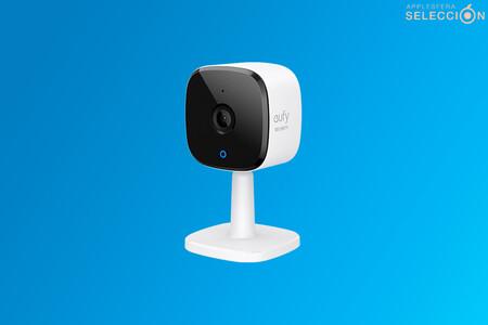 La cámara de vigilancia doméstica eufy Security 2K compatible con HomeKit está de oferta del día en Amazon por 29,99 euros