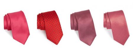 Acentúa tu look con una corbata roja