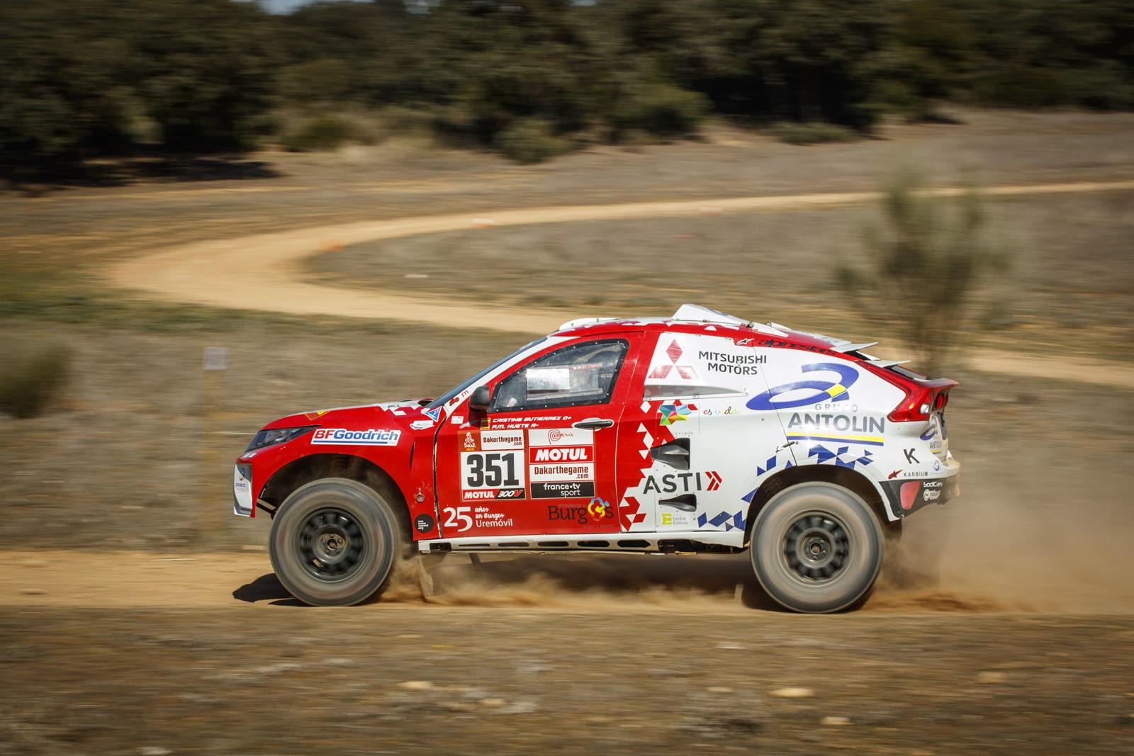 Foto de Mitsubishi Eclipse Cross Proto Dakar (10/38)