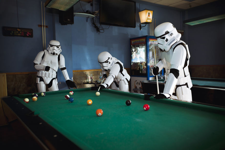 Foto de El día a día de los Stormtroopers (10/16)