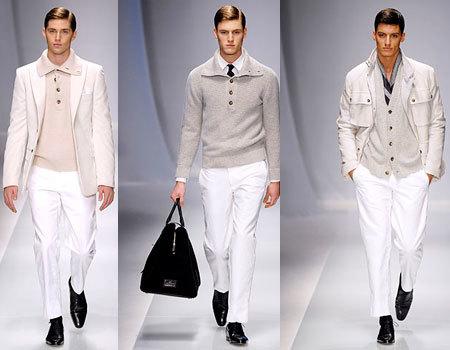 Valentino en la Semana de la Moda de Milán Masculina