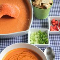 Once gazpachos de once sabores (y dos sorprendentes recetas con gazpacho)