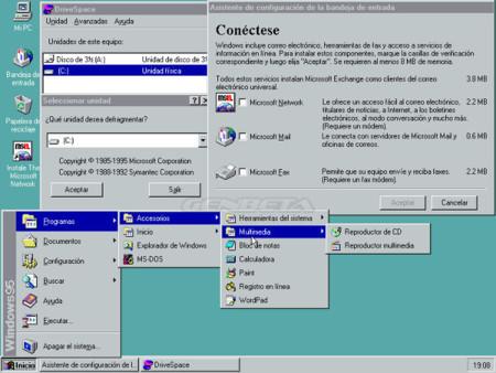Configuración del correo electrónico en Windows 95