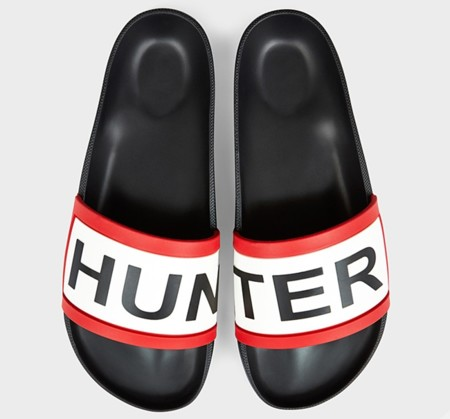 Chanclas Hunter En Negro
