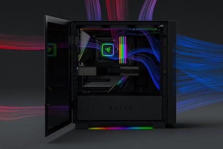 Así es el nuevo Tomahawk, la torre en la que Razer quiere que montes tu PC