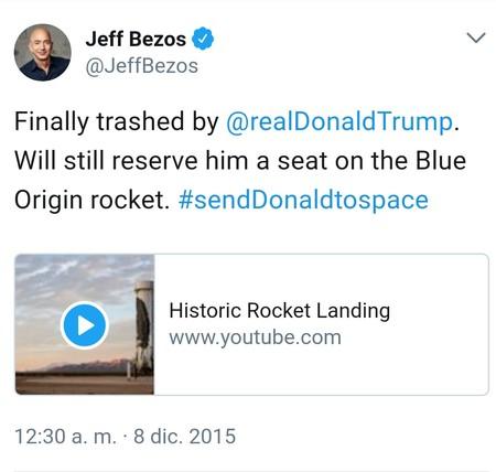 Trump Contra Amazon Solo Puede Quedar Uno En El Ring Tuit4