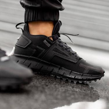 Éstas zapatillas Reebok totalmente negras para cazar con descuento ahora y lucir todo el otoño