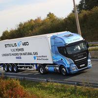 ¡1.728 km! El Iveco Stralis NP 460 de gas natural licuado ha viajado de Londres a Madrid sin repostar