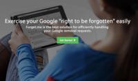 Forget.me te ayuda a ejercer el derecho al olvido de Google