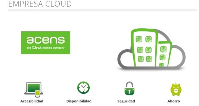Empresa Cloud de acens, la apuesta por la oferta en la nube para las empresas