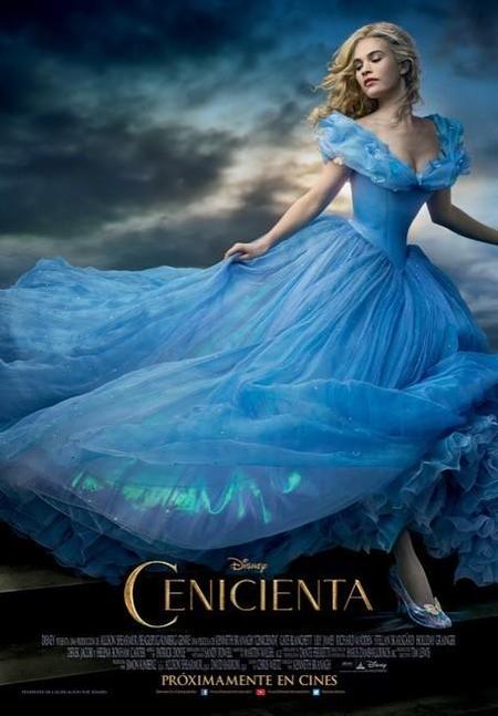 Nuevo cartel y tráiler de Cenicienta que se estrenará en marzo de 2015