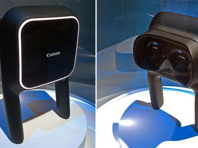 Canon también se apunta a la realidad virtual, pero pasa de cascos
