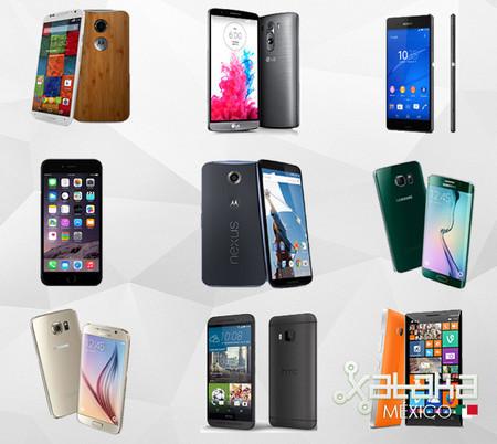 Samsung Galaxy S6/Edge y HTC One M9, ¿cómo se colocan contra la gama alta?
