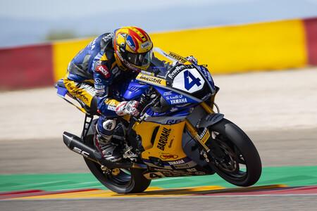 Steven Odendaal vuelve a aprovechar la velocidad punta de su moto para repetir triunfo en Supersport