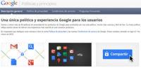 La nueva política de privacidad de Google en el punto de mira de la Unión Europea