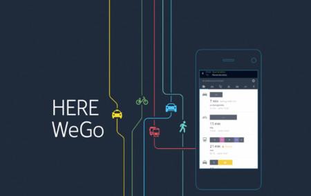 HERE Maps ahora es HERE WeGo: estrena características bastante útiles