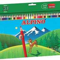 El motivo por el que todas las cajas de lápices Alpino incluyen misteriosas señales de 10 kilómetros