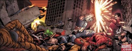 El cómic Civil War