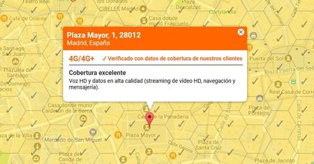 El mapa de cobertura de Orange evoluciona para ofrecer información más fiable, recogiendo datos reales