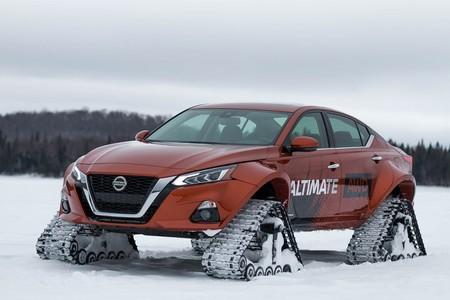 El Nissan Altima-te AWD lleva su capacidad off-road al terreno de la locura