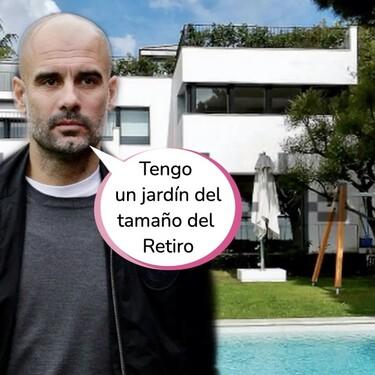 Esta es la impresionante mansión de 10 millones de euros que se ha comprado Pep Guardiola