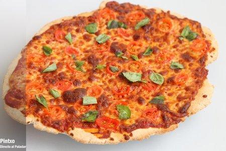 Receta de pizza margarita con masa de centeno