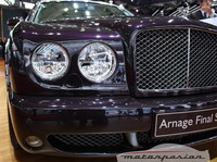 Bentley Arnage Final Series en el Salón de París