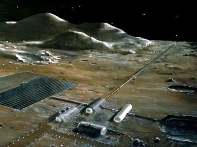 Construir una base permanente en la Luna está de moda, es una pena que no sepamos cómo construirla