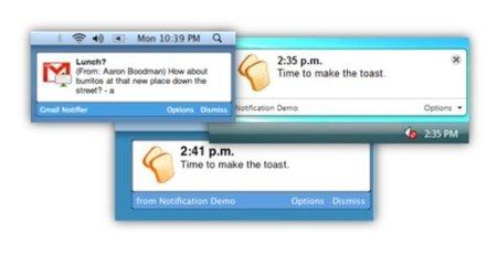 Las extensiones de Chrome ahora pueden mostrar notificaciones en el escritorio
