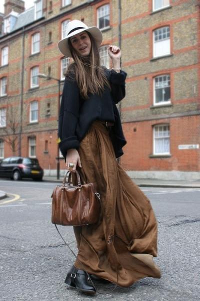 gala long skirt