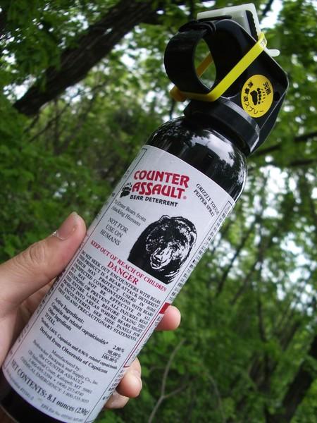 spray de pimienta