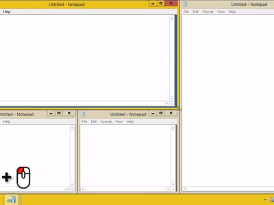 AquaSnap mejora la gestión de ventanas en Windows, especialmente con monitores múltiples o 4K