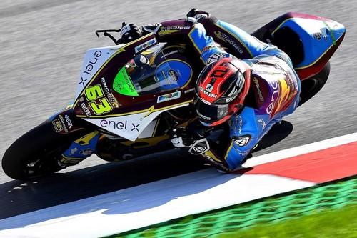 Mike Di Meglio gana la primera carrera de motos eléctricas bajo la lluvia para ser el nuevo líder de MotoE
