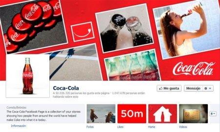 Coca-Cola, la primera marca no tecnológica en superar 50 millones de fans en Facebook