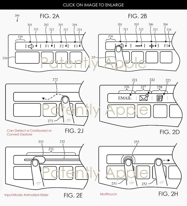 patente Magic Keyboard