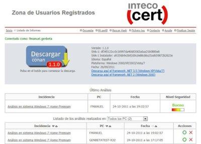 CONAN, la herramienta gratuita de análisis de INTECO, ha sido actualizada. A fondo