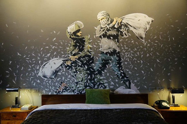 The Walled Off Hotel Banksy Hote 6