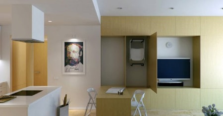 apartamento correderas comedor
