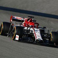 Robert Kubica da la sorpresa con su Alfa Romeo en el cuarto día de pretemporada de la Fórmula 1 en Barcelona