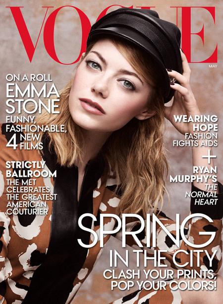 25 añitos y mi Emma Stone ya va por la cuarta portada de Vogue ¡Eso es tener futuro!