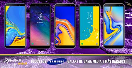 La gama media y de entrada Samsung tienen nuevos integrantes: así quedan las familias Galaxy J y A al completo
