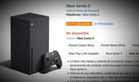 Disponibilidad Xbox Series X