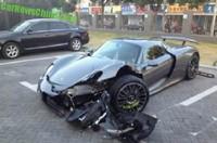 Dolorpasión™: Porsche 918 Spyder se accidenta en China