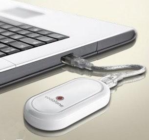 Módem USB HSDPA de Vodafone compatible con Mac