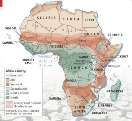 Cambio climático: el reto de Africa